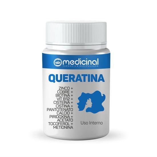 QUERATINA---ZINCO---COBRE---BIOTINA---VIT-B12---CISTEINA---CISTINA---PANTOTENATO-CALCIO---PIRIDOXINA---ACETATO-TOCOFEROL---METIONINA