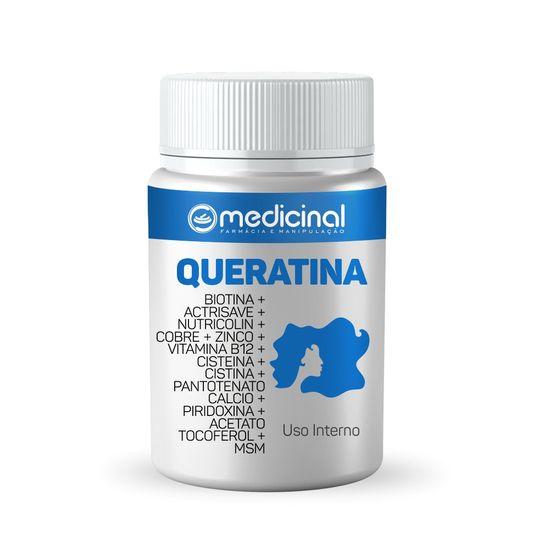 QUERATINA---BIOTINA---ACTRISAVE---NUTRICOLIN---COBRE---ZINCO---VITAMINA-B12---CISTEINA-HCL---CISTINA---PANTOTENATO-CALCIO---PIRIDOXINA---ACETATO-TOCOFEROL---MSM---QUERATINA